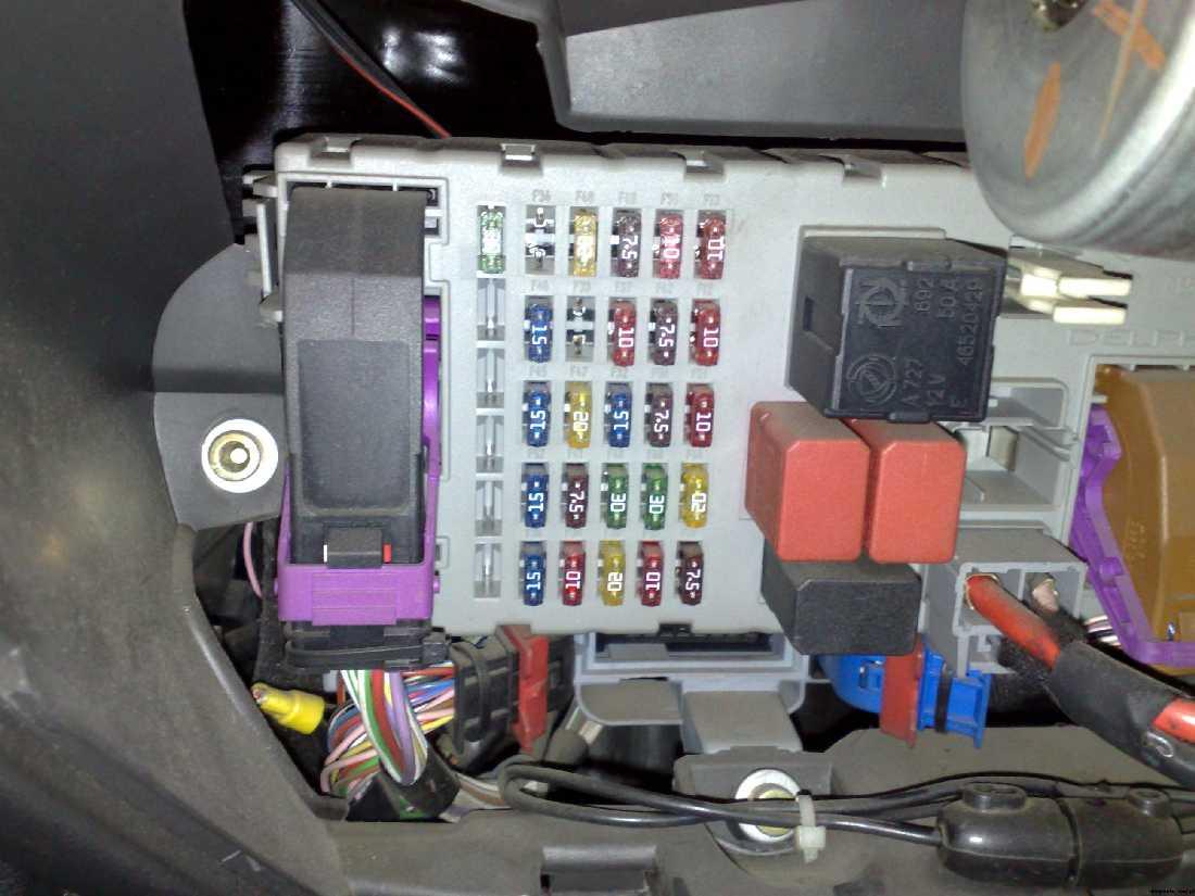 Fiat       Punto       Evo    Bezpieczniki  0425